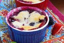 Sweet Treats | Cobblers & Puddings / by Nadia Khan