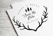 My Custom Stamps / I design custom return address stamps, wedding stamps and business logo stamps!   https://www.etsy.com/shop/DivineStamps