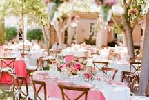Wedding Decorations / Inspirations 4 one's wedding ceremony and party / by Julie Oliveira