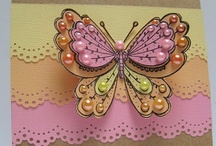 Cards - Butterflies & Bugs / by Pat Jones
