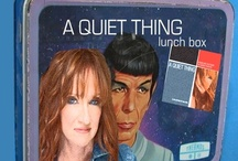 CD Promotion / Pop Culture meets A Quiet Thing. A fun Facebook campaign I created for my new CD, A Quiet Thing