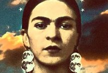 Todo Friducha / Frida Kahlo de Rivera, born Magdalena Carmen Frieda Kahlo y Calderón; July 6, 1907 – July 13, 1954) was a Mexican painter, born in Coyoacán, who is best known for her self-portraits. / by Diana Garcia