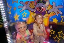 Birthdays / Throw a magical party without lifting a finger! Our parties are a rocking way for your kids to celebrate with Chuck E. Cheese himself. Check out some of our favorite birthday ideas on this board! / by Chuck E. Cheese