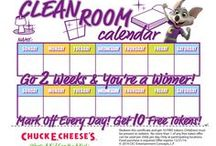 Parent Like a Pro / A few tips, tricks, activities and fun reward calendars for parents... / by Chuck E. Cheese
