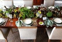 Table Accessories / It's all about the presentation, especially when it comes to your table.