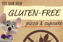 Gluten-Free Fun / At Chuck E. Cheese's, we're proud to have a gluten-free cupcake and individual cheese pizza prepared in a dedicated gluten-free facility, shipped, baked and delivered to your table in a sealed bag. The fun doesn't stop in-store, check out all of our awesome friends' gluten-free recipes! / by Chuck E. Cheese
