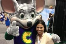 """BlogHer 2013 / Follow our """"Chuck E. Rocks BlogHer '13"""" Pinterest board to see all the fun things happening at the event! Also keep your eye on #BlogHer13 on Twitter for a special behind-the-scenes surprise at the show! / by Chuck E. Cheese"""