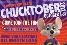 Chucktober  / by Chuck E. Cheese