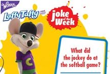Laffy Taffy Joke of the Week / by Chuck E. Cheese