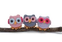 Amigurumi: Owls & birds