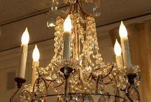 Exquisitely Delicate Chandelier's