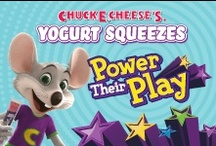 Power Their Play / Want to win the ultimate playground? You could when you enter the Chuck E. Cheese's Yogurt Squeezes Power Their Play Photo Challenge on Facebook. We're giving away a backyard playground every week – and one Grand Prize playground for the whole community! No purchase necessary.  / by Chuck E. Cheese
