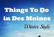 Winter Fun! / Winter in Iowa is anything but boring - and we can prove it!