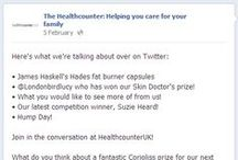 Why you should Like us on Facebook / We do loads of cool competitions and giveaways on Facebook. All you have to do is like our page @facebook.com/thehealthcounter to see if you can win.  Here are a few more reasons why we should be your friend. / by TheHealthcounter