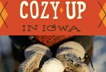 Cozy Up In Iowa / Got a case of cabin fever? Our Cozy Up In Iowa board is for you! We have pinned cozy getaways, cozy products made in Iowa and fun outdoor winter activities that are sure to spark some fun in your #WinterGetaway.