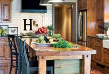 Favorite Spaces - Kitchens / Our favorite room in the house and always the heart of a home.  We want them all!  / by Carolina HeartStrings