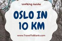 Oslo, Norway. / We are sharing amazing pictures of Oslo. We have been there twice and it is so beautiful.   http://traveltoblank.com/walking-oslo-norway-just-10-km/
