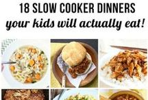 Slow cooker / Call it a slow cooker or a crock pot, either way it's awesome. Breakfast, lunch, dinner, and even dessert ideas for the slow cooker.  / by Ashley Whipple
