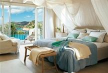 Bedrooms to LOVE / Bedroom design... headboards, comforters, decoration, specialty beds / by Angela Goodwin