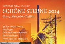 SCHÖNE STERNE  / der Event für alle Mercedes-Fans auf der Henrichshütte in Hattingen  / by Redaktion Mercedes-Fans