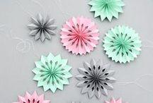 DIY inspiration - alles mit papier / origami, freebooks und andere tolle sachen rund ums papier