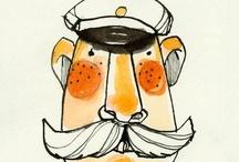 Personas | ilustraciones:: / Hermosos dibujitos de personas...