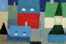 Casas y ciudades dibujadas::