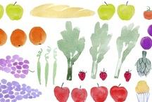 Rico! | ilustraciones:: / Comidas y recetas dibujadas...