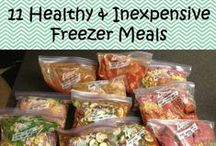 Freezer Meals / Freezer meals are great time savers. Do the prep, freeze, and make when you are ready. / by Ashley Whipple