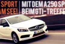 """Wörthersee-Tour 2013 mit A250 Sport  / Das IOnline-Magazin Mercedes-Fans.de wollte es wissen: """"Wie kommt der Mercedes A250 Sport bei den GTI-Fans an  / by Redaktion Mercedes-Fans"""