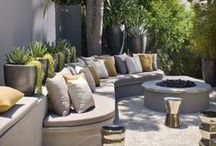 Landscaping Inspiration / I love to garden and greatly admire good landscape design. These images focus mainly on landscaping ideas for small inner city spaces, much like my own.