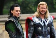 Thor and Loki / by BuenoGabriela♛