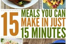 Quick Meals - 30 minutes or less / Quick Dinner ideas and food that you can get on the table in 30 minutes or less.  / by Ashley Whipple