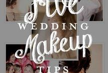 Brides: Look Your Best on Your Wedding Day / Tips for brides to look their most beautiful on their wedding day!
