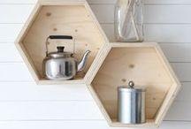 DIY inspiration - möbel, lampen & regale / schlichte, moderne möbel zum selberbauen. tipps und anleitungen