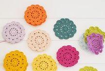DIY inspiration - stricken, sticken & häkeln / granny squares, stickmuster, häkelborten und vieles mehr