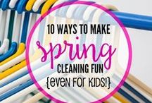 Spring Cleaning #SpringClean16 / by Danielle Davis {TODAYS THE BEST DAY}