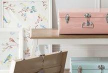 Mundo em cor de rosa ❀ / Tons suaves para uma casa harmoniosa...