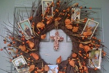 All things fall (Halloween, Thanksgiving, All Saints Day, etc) / by Christina Karnes