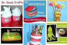 obSEUSSed with Dr. Seuss / Dr. Seuss crafts, parties, book activities. More ideas in my Dr. Seuss Collection at www.obSEUSSed.com / by Victoria Saley @obSEUSSed