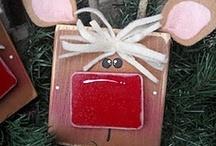 Christmas Decor and Crafts / All Christmas decorations and Christmas crafts such as wreaths and ornaments. / by Cindy Takacs