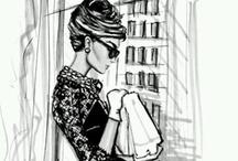 Audrey Hepburn / by Heather Nel