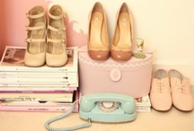 colors i heart...shades of tiffany & blush pink / by Ashley Franklin