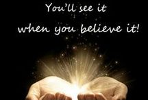 Beliefs / Free to believe or not. / by Venus Cole