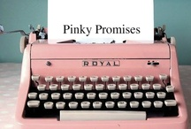 Pink-y Promises! / You are invited to pin everything PINK on the planet here. If you would like an invite, please email wildgeesejeny@aol.com  / by Wild Geese that Fly
