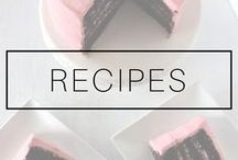 DELICIOUS RECIPES / Cake, salad, pasta, cookies and desserts recipes.