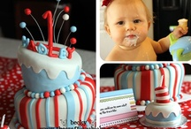 Dr. Seuss Party, Cakes & Food / Dr. Seuss party ideas with whimsical cakes, cupcakes and snack ideas