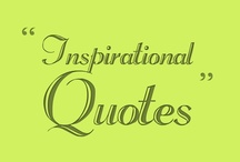 Inspirational Quotes / A collection of #Inspirational #Quotes on topics including #Success, #Life, #Leadership, #Teachers and more...