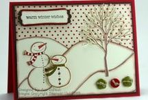 Scrapbook - cards - Christmas