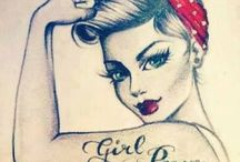 Pin Ups / by Gail Pierce